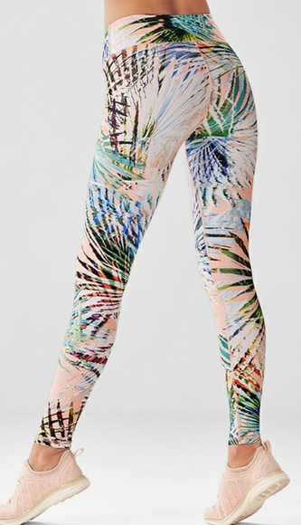 NWOT Fabletics Mid-Rise Printed Powerlite Legging